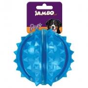 Brinquedo Bola Dura Espinho Azul
