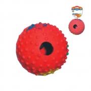 Brinquedo Chalesco Bola para Ração Azul