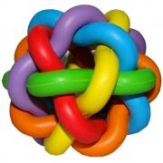 Brinquedo Chalesco Para Cães Bola Multicor