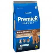 Ração Premier Pet Formula Cães Filhotes Raças Grandes e Gigantes Frango 15kg