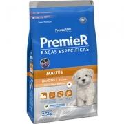 Ração Premier Raças Específicas Maltês para Cães Filhotes 2,5Kg