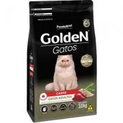 Ração Seca PremieR Pet Golden Gatos Adultos Carne - 3Kg