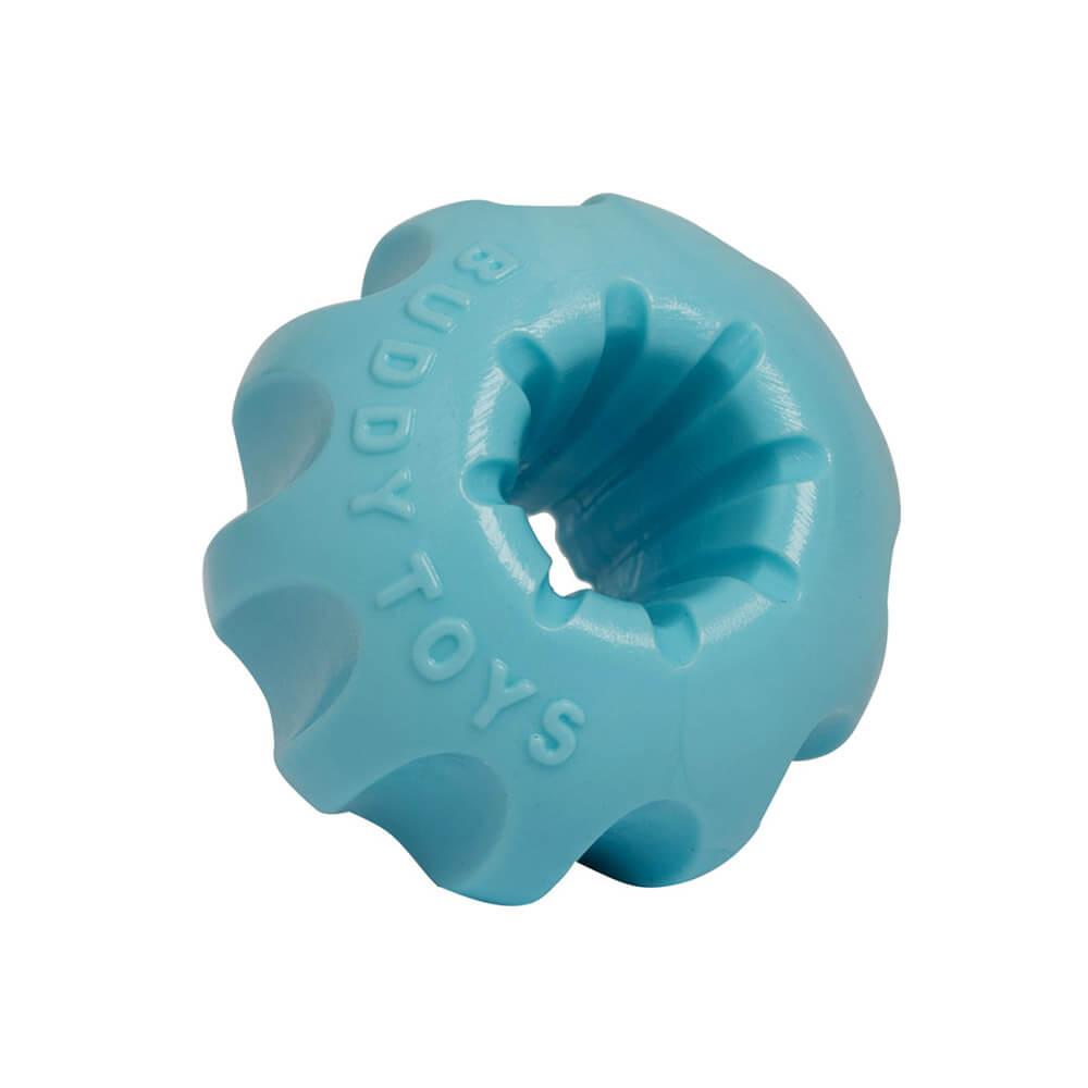 Brinquedo Mini Bolt Azul para Cães Filhotes Pequeno e Médio Porte Buddy Toys
