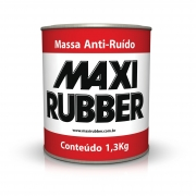 Massa Anti Ruído 1,3kg Maxi Rubber