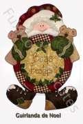 Apostila - Guirlanda de Noel com Ursinhos