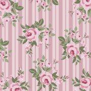 Floral Pássaros Rosa