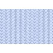 Tecido Digital Tricô Azul