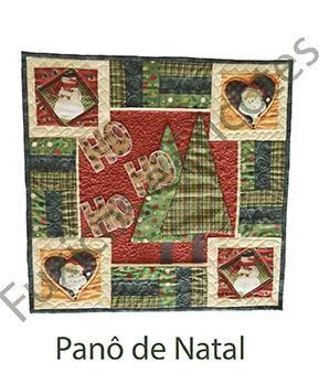 Apostila - Panô de Natal  - Tecidos Digitais