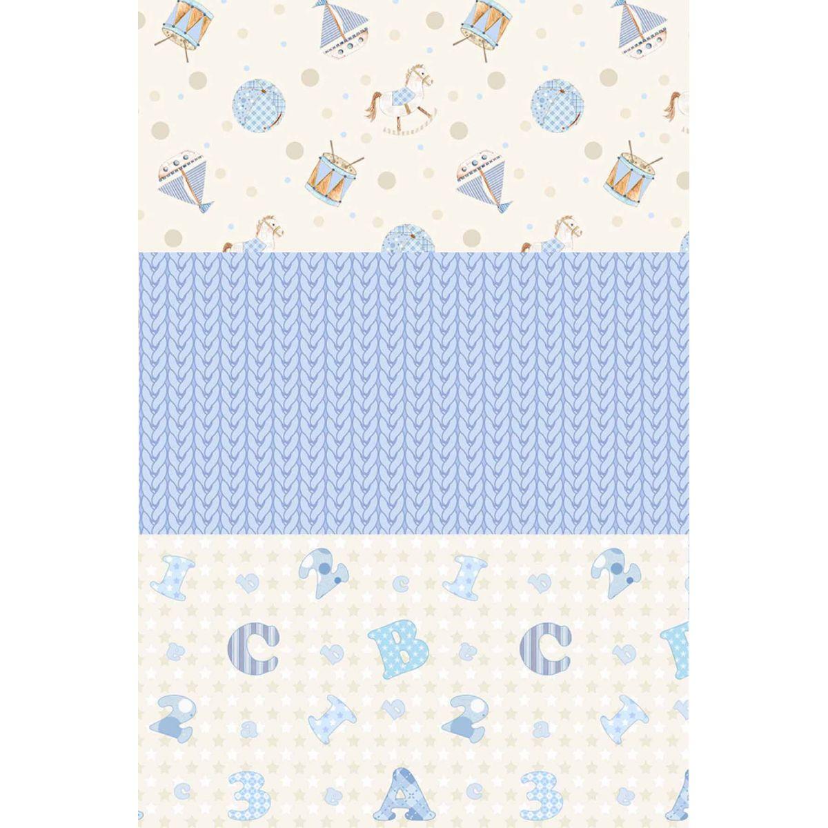 Kit Coleção Baby Menino  - Tecidos Digitais