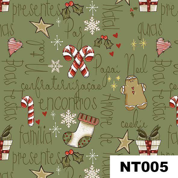 Mini Elementos Natal  - Tecidos Digitais