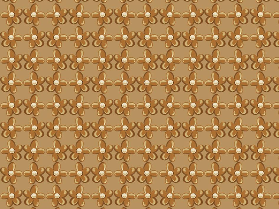 Tecido Digital Flor Textura Caramelo  - Tecidos Digitais