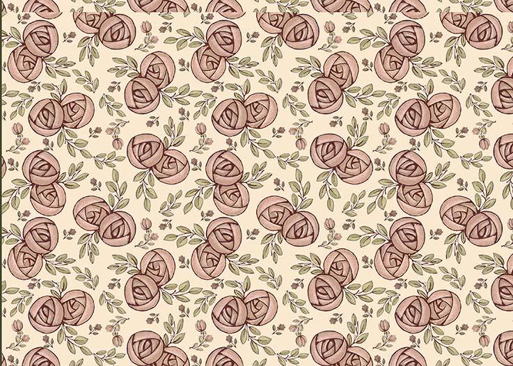 Tecido Digital Flores Miúdas  - Tecidos Digitais