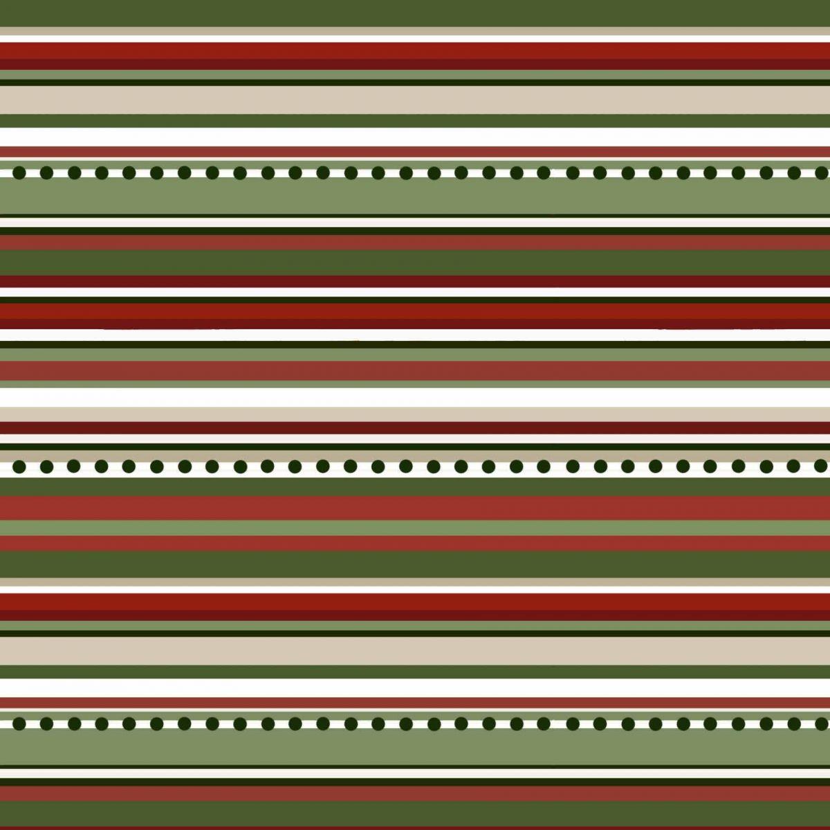 Tecido Digital Listrado Natal  - Tecidos Digitais