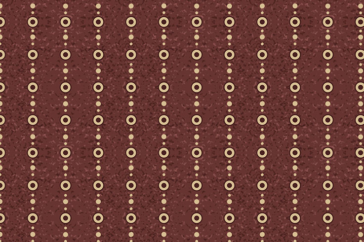 Tecido Digital Listras Poá Vinho  - Tecidos Digitais