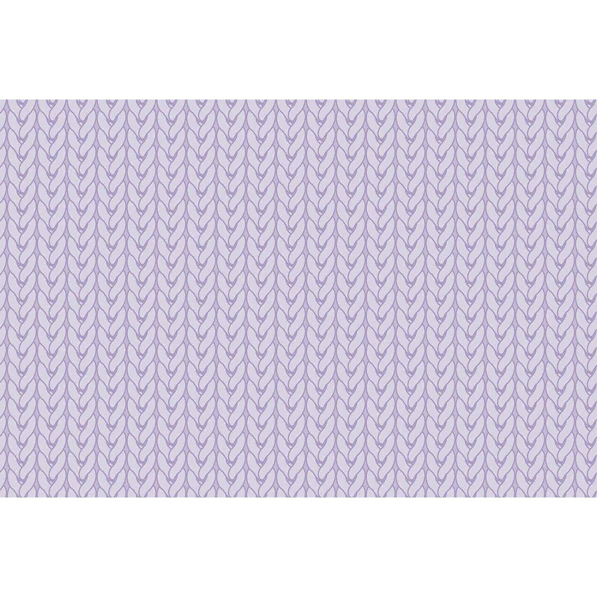Tecido Digital Tricô Lilás  - Tecidos Digitais