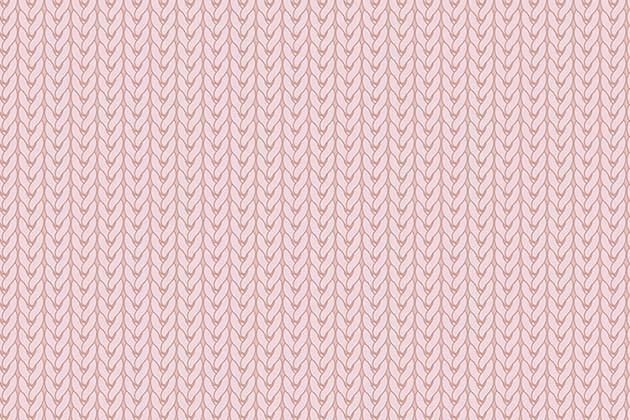 Tecido Digital Tricô Rosa  - Tecidos Digitais