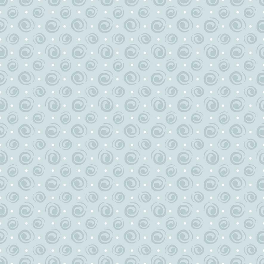 Tecido Espiral Azul Claro  - Tecidos Digitais