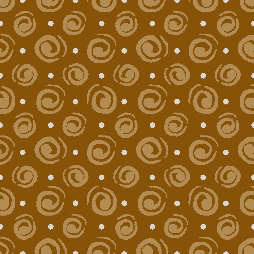 Tecido Espiral Laranja  - Tecidos Digitais