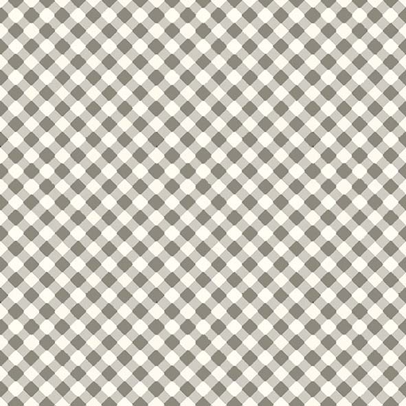 Tecido Micro Xadrez Fendi  - Tecidos Digitais