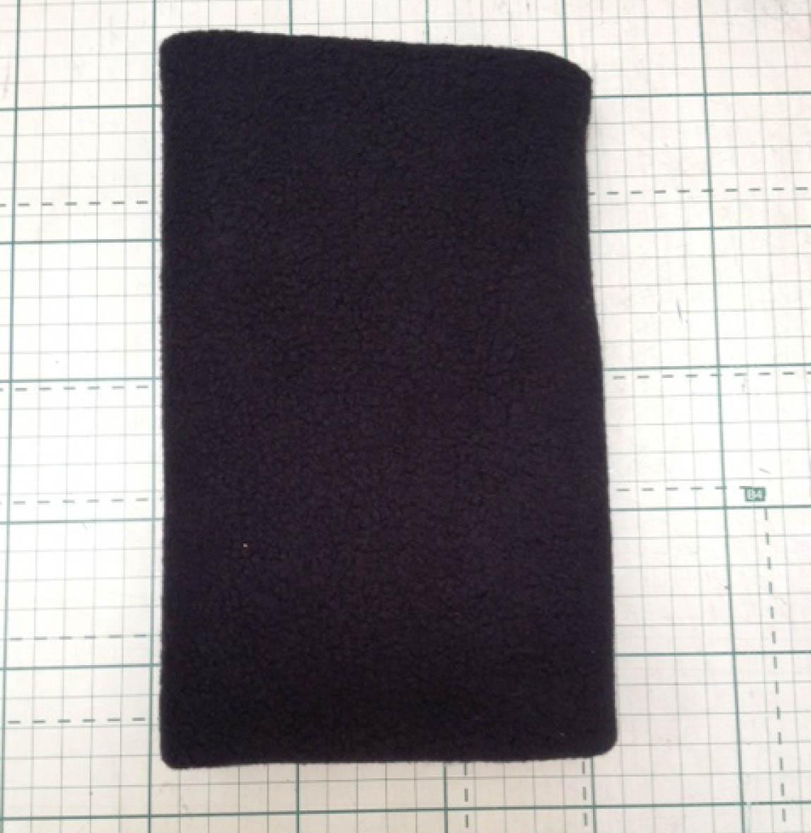 Uniflock Preto  - Tecidos Digitais
