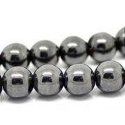 Hematita Natural Fio com Esferas de 10mm - FESF_109/10
