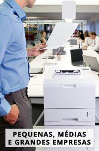 Alugar impressoras