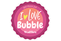 Logo I love bubble