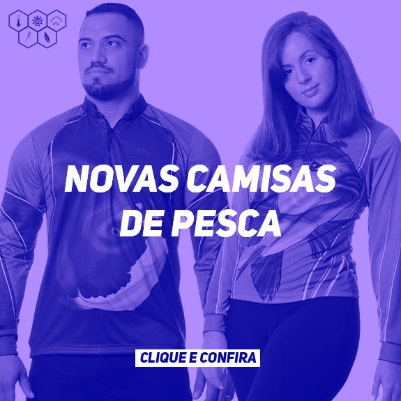 NOVAS CAMISAS PESCA