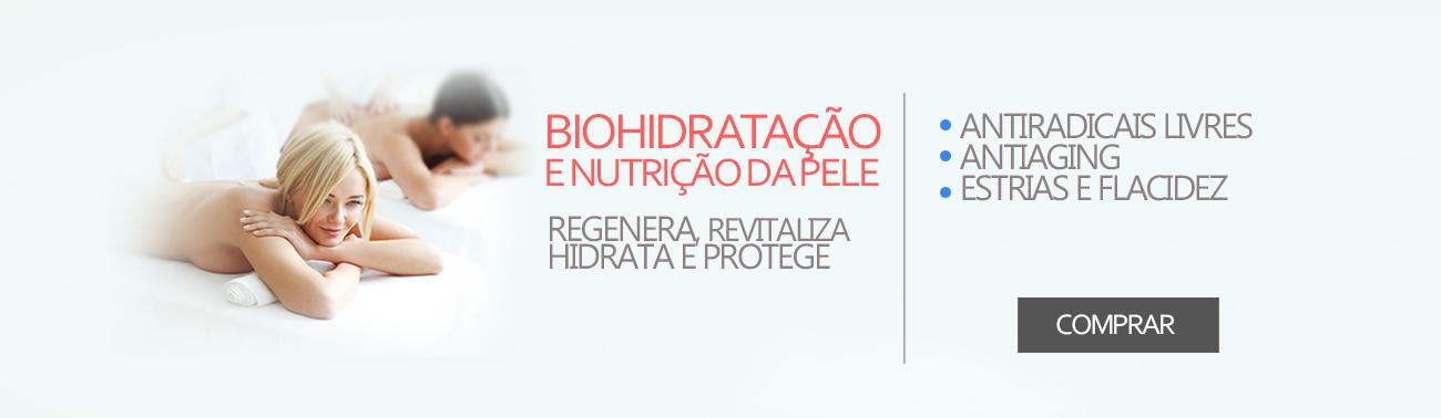 Hidratação e nutrição da pele