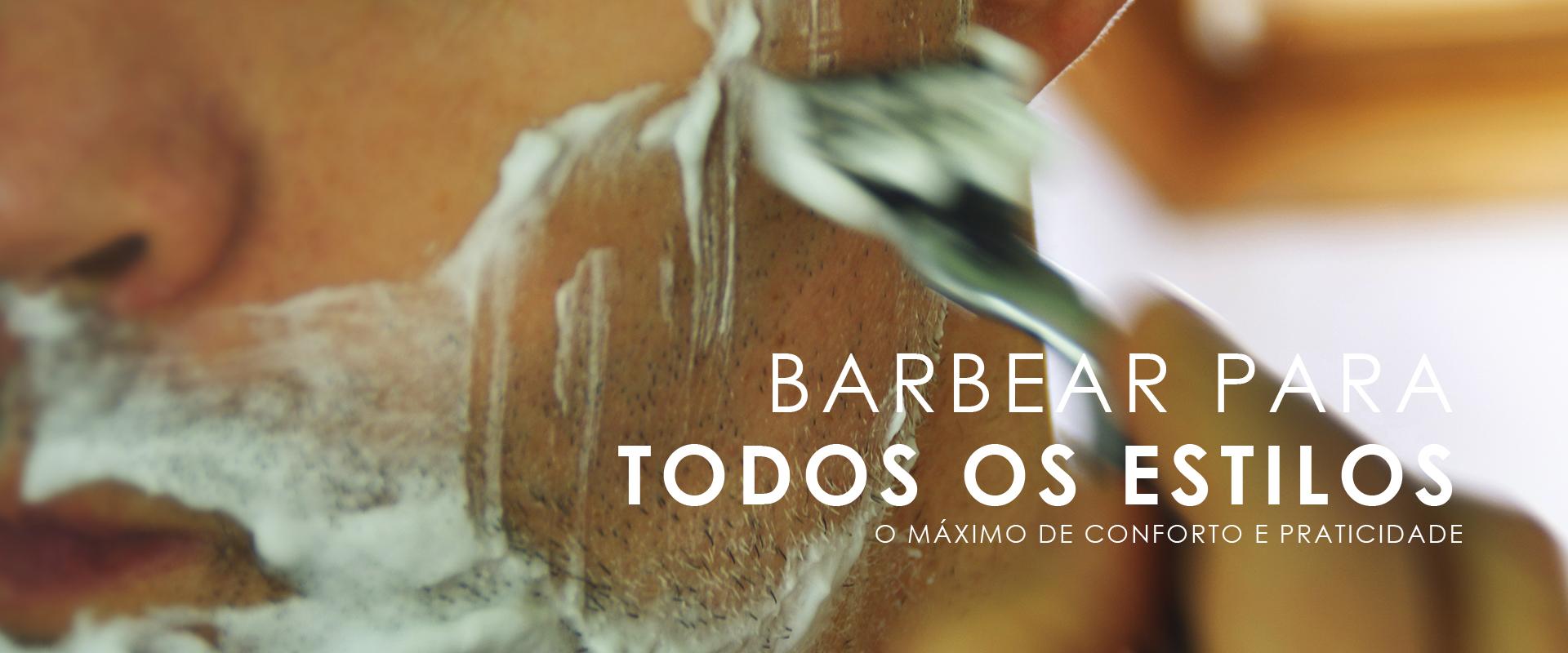 Produtos para barbear