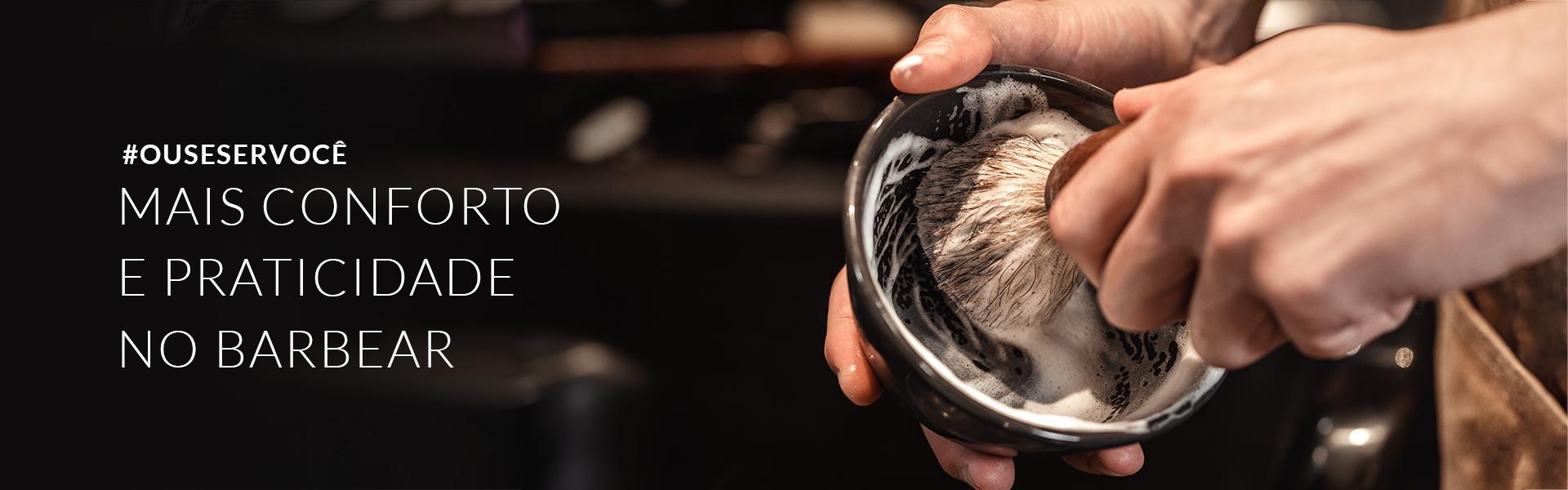 Produtos para barbear, creme de barbear, gel de barbear, loção pós-barba, gel pós-barba