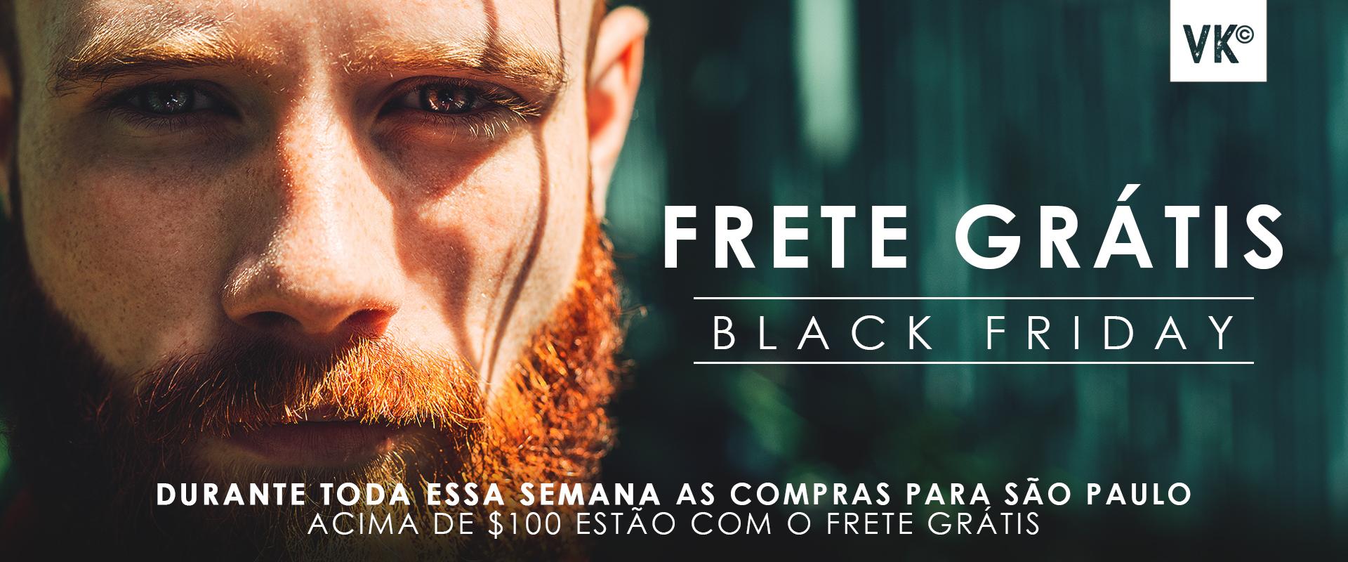 Promoção especial de Black Friday