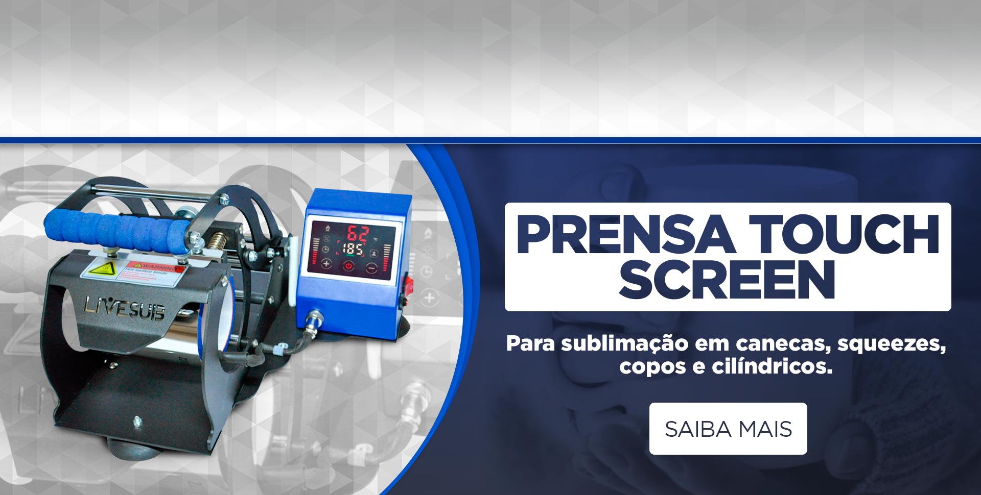 Prensa de Caneca Touch Screen Livesub