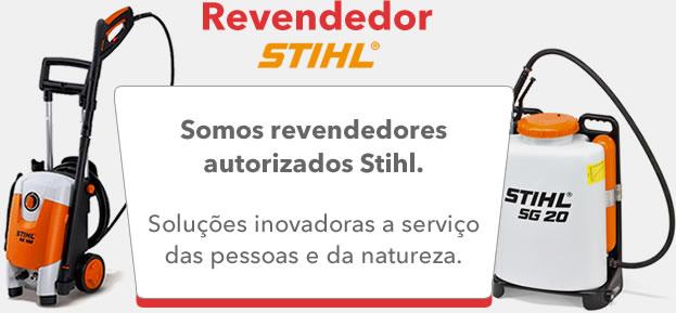 Somos revendedores autorizados Stihl.