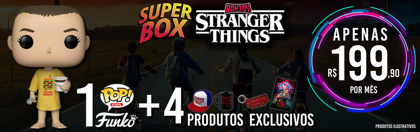 Stranger Things - Superbox