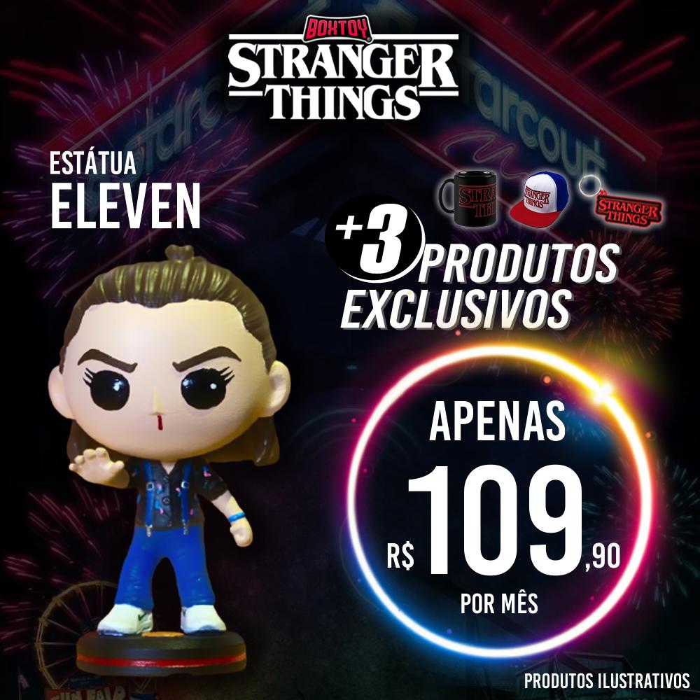Stranger Thins - Estátua Eleven - Mobile