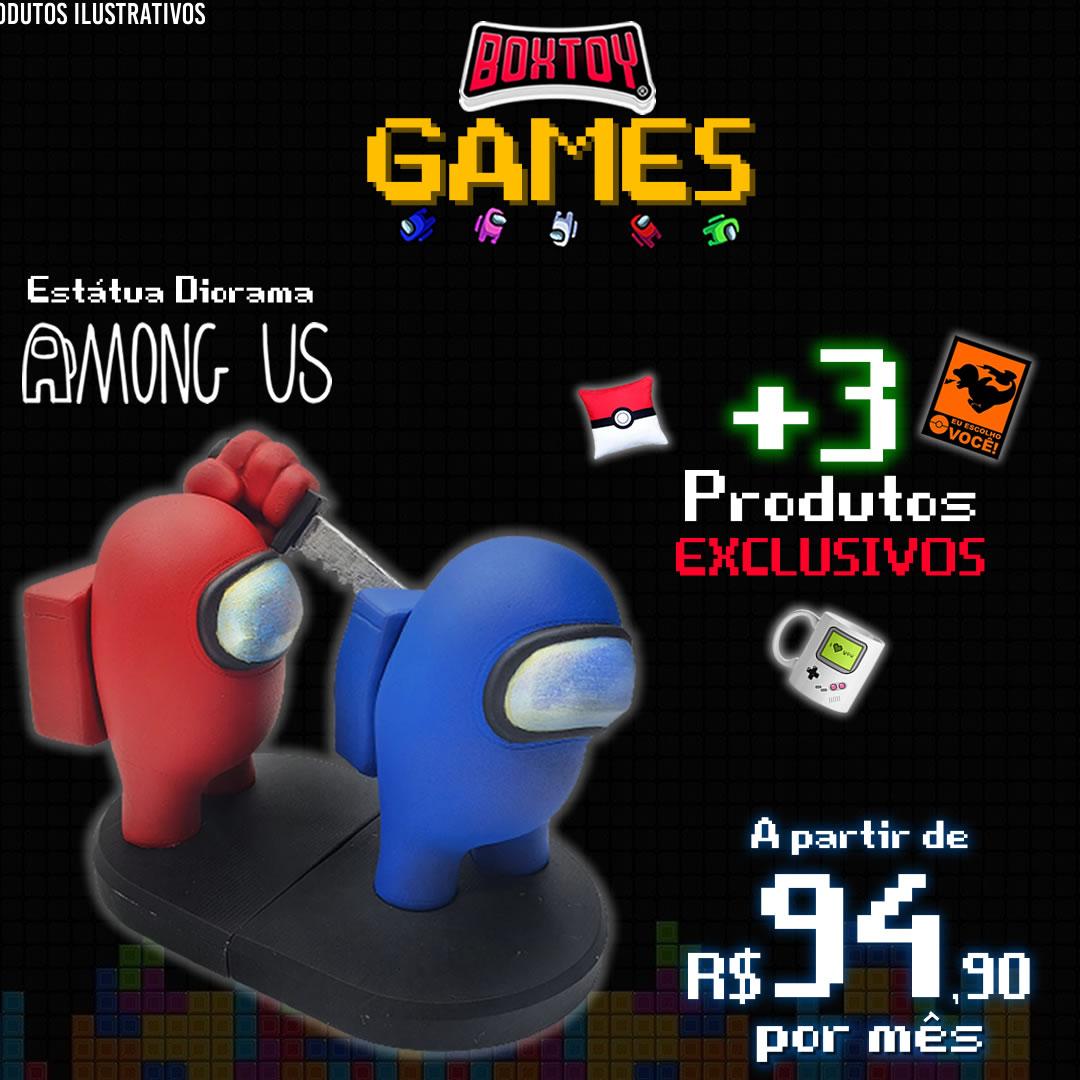 Próxima Box - Janeiro Games