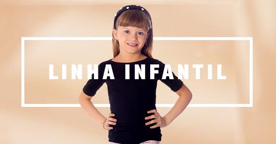 Blusas Infantis Femininas