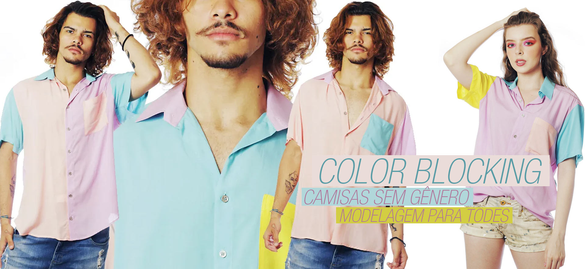 CAMISAS COLOR BLOCKING