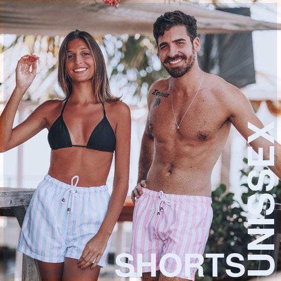 SHORTS CURTOS - SEM GENERO