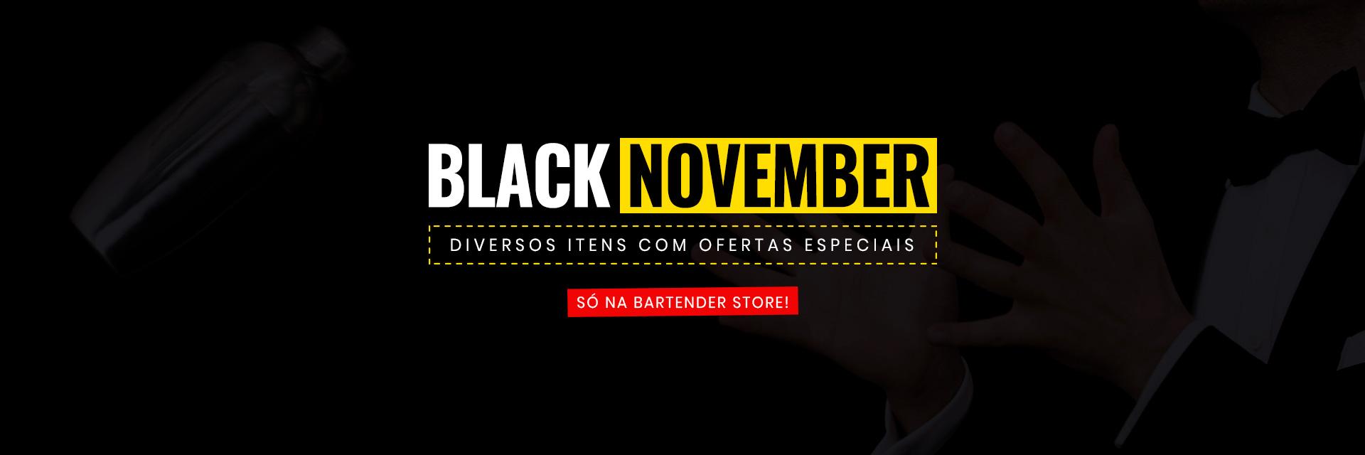 Black November - Black Friday na Bartender Store