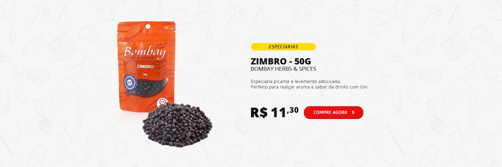 Zimbro Bombay Pacote 20g