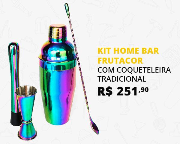 Kit Home Bar Utensílios Frutacor