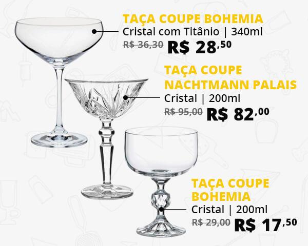 Taças Coupe Cristal