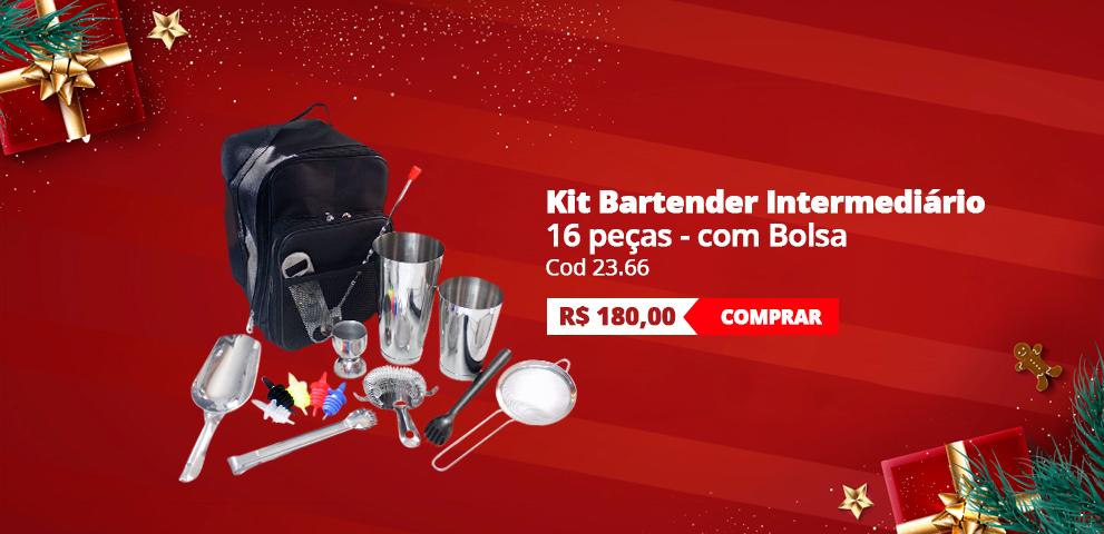 Kit Bartender Intermediário - 16 peças
