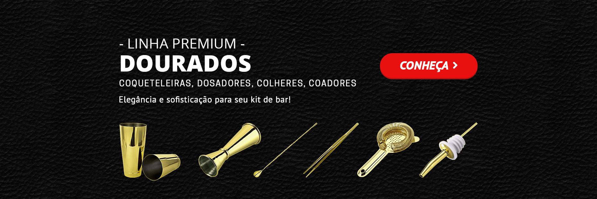 Linha Premium Dourada