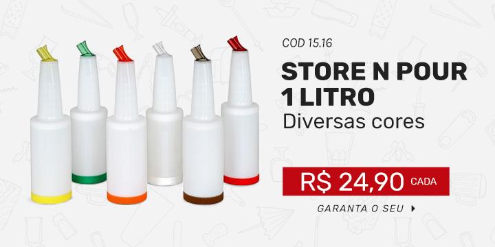 Store N'Pour 1 litro - Diversas cores