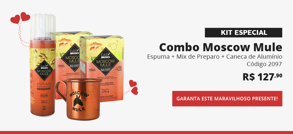 Kit Moscow Mule Iniciante