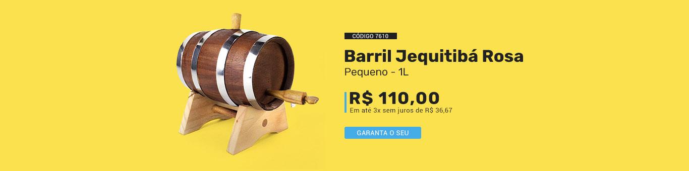 Barril Jequitibá Rosa código 7610