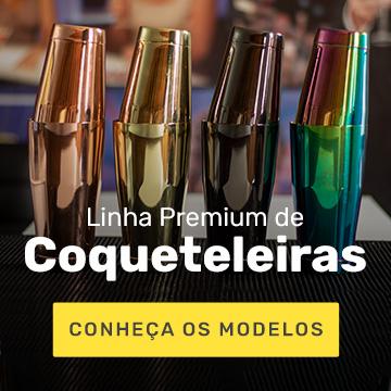 Linha Premium de Coqueteleiras